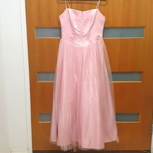 Size 14 Mr K pink fairy formal gown bridesmaid
